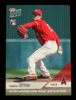 Shohei Ohtani 2018 Topps Now Spring Training #ST4 at PristineAuction.com