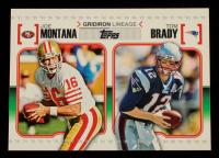 Joe Montana / Tom Brady 2010 Topps Gridiron Lineage #GLMOB at PristineAuction.com