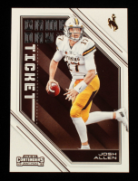 Josh Allen 2018 Panini Contenders Draft Picks Game Day Tickets #3 at PristineAuction.com