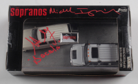 """Steve Schirripa & Michael Imperioli Signed """"The Sopranos"""" Hummer H2 and Cadillac Escalade Die-Cast Cars Inscribed """"Bacala"""" (Your Sports Memorabilia Store Hologram) (See Description) at PristineAuction.com"""