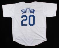 "Don Sutton Signed Jersey Inscribed ""HOF 98"" (JSA COA) at PristineAuction.com"