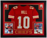 Tyreek Hill Signed 35x43 Custom Framed Jersey Display (JSA COA) (See Description) at PristineAuction.com