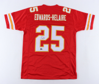 Clyde Edwards-Helaire Signed Jersey (Beckett Hologram) at PristineAuction.com