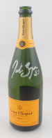 "Patrice Bergeron Signed 2010-11 Stanley Cup Championship ""Veuve Clicquot"" Champagne Celebration Bottle (Bergeron COA) at PristineAuction.com"
