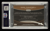 """Earl Campbell Signed 2010 Topps Triple Threads Relic Sepia #TTR150 #27/27 Inscribed """"HOF 91"""" (PSA Encapsulated) at PristineAuction.com"""
