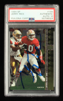 Jerry Rice Signed 1994 SP #194 (PSA Encapsulated) at PristineAuction.com