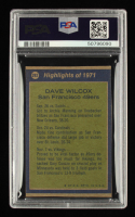 Dave Wilcox Signed 1972 Topps #282 AP (PSA Encapsulated) at PristineAuction.com