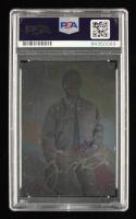 Joe Montana Signed 1991 Arena Holograms #AU6 Autograph #1253/2500 (PSA Encapsulated) at PristineAuction.com