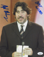 """Alfred Molina Signed 8x10 Photo Inscribed """"Best Wishes"""" (JSA COA) at PristineAuction.com"""