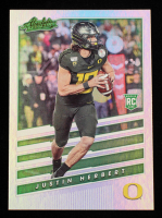 Justin Herbert 2020 Absolute Rookies Spectrum #4 at PristineAuction.com