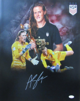 Alyssa Naeher Signed Team USA Soccer 16x20 Photo (JSA COA) at PristineAuction.com