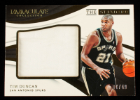 Tim Duncan 2017-18 Immaculate Collection The Standard Relics #ST14 #7/49 at PristineAuction.com
