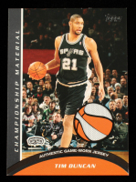 Tim Duncan 2009-10 Topps Championship Materials #CMTD at PristineAuction.com