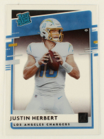 Justin Herbert 2020 Donruss Clearly Rated Rookies #3 at PristineAuction.com