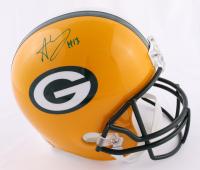 Allen Lazard Signed Packers Full-Size Helmet (JSA COA) (See Description) at PristineAuction.com