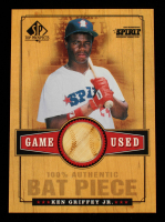 Ken Griffey Jr. 2001 SP Top Prospects Game Used Bat #BKG at PristineAuction.com
