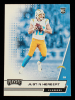 Justin Herbert 2020 Playoff #203 RC at PristineAuction.com