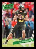 Justin Herbert 2020 Prestige Draft Picks #4 at PristineAuction.com