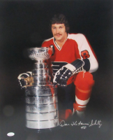 """Dave """"The Hammer"""" Schultz Signed Flyers 16x20 Photo (JSA COA) at PristineAuction.com"""