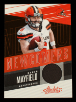 Baker Mayfield 2018 Absolute Newcomers Jerseys #4 at PristineAuction.com
