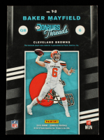 Baker Mayfield 2019 Donruss Threads Red #2 at PristineAuction.com