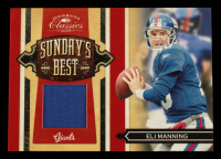 Eli Manning 2009 Donruss Classics Sunday's Best Jerseys #17 #125/199 at PristineAuction.com