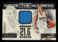 Dirk Nowitzki 2012-13 Prestige Inside the Numbers Materials #44 at PristineAuction.com
