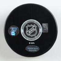 Darryl Sittler Signed Maple Leafs Logo Hockey Puck Inscribed (Schwartz Sports COA) at PristineAuction.com