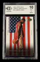 LeBron James 2003 Upper Deck LeBron James Box Set #23 (BCCG 10) at PristineAuction.com