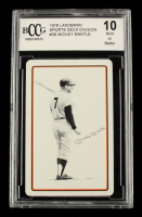 Mickey Mantle 1978 Landsman Playing Cards #NNO (BCCG 10) at PristineAuction.com