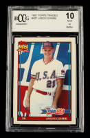 Jason Giambi 1991 Topps Traded #45T USA RC (BCCG 10) at PristineAuction.com