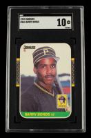 Barry Bonds 1987 Donruss #361 RC (SGC 10) at PristineAuction.com