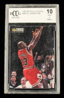 Michael Jordan 1997-98 Collector's Choice #392 (BCCG 10) at PristineAuction.com