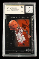 Michael Jordan 2000 Upper Deck Century Legends #90 with Game-Used Jersey Piece (BCCG 10) at PristineAuction.com