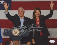 "Kristi Noem Signed 8x10 Photo Inscribed ""SD Governor"" (JSA COA) at PristineAuction.com"