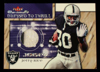 Jerry Rice 2002 Fleer Maximum Dressed to Thrill #16 at PristineAuction.com
