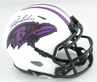 Odafe Oweh Signed Ravens Eclipse Alternate Speed Mini Helmet (JSA COA) (See Description) at PristineAuction.com