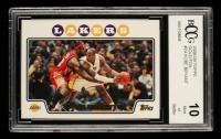 Kobe Bryant 2008-09 Topps Gold Foil #24 (BCCG 10) at PristineAuction.com