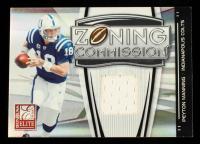 Peyton Manning 2008 Donruss Elite Zoning Commission Jerseys #2 #207/299 at PristineAuction.com
