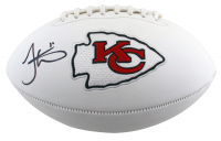 Tyreek Hill Signed Chiefs Logo Football (Beckett Hologram) at PristineAuction.com