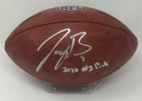 "Joe Burrow Signed NFL ""The Duke"" Game Ball Football Inscribed ""2020 #1 Pick"" (Fanatics Hologram) at PristineAuction.com"