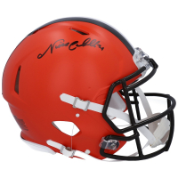 Nick Chubb Signed Browns Full-Size Authentic On-Field Speed Helmet (Fanatics Hologram) at PristineAuction.com