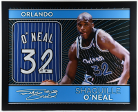 Shaquille O'Neal Signed 35x43 Custom Framed Jersey (Beckett COA) (See Description) at PristineAuction.com