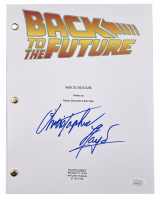 """Christopher Lloyd Signed """"Back to the Future"""" Movie Script (JSA COA) at PristineAuction.com"""
