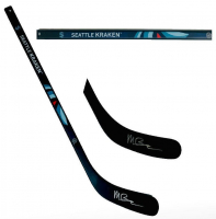 Matt Beniers Signed Kraken Mini Hockey Stick (Fanatics Hologram) at PristineAuction.com