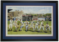 MLB 300 Wins Club 24x36 Poster Signed b (7) with Nolan Ryan, Gaylord Perry, Don Sutton, Warren Spahn, Tom Seaver, Steve Carlton with Multiple Inscriptions (JSA LOA) at PristineAuction.com