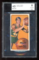 Pat Riley 1970-71 Topps Topps 13 RC (BCCG 8) at PristineAuction.com