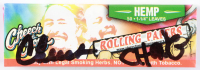 Cheech Marin & Tommy Chong Signed Rolling Paper (JSA COA) at PristineAuction.com