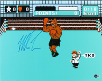 """Mike Tyson Signed """"Punch-Out!!"""" Photo 16x20 Photo (Beckett Hologram) at PristineAuction.com"""