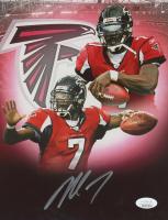 Michael Vick Signed Falcons 8x10 Photo (JSA COA) at PristineAuction.com